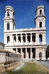 Saint-Sulpice church, Paris, France, Europe