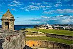San Felipe del Morro, UNESCO World Heritage Site, San Juan, Puerto Rico, West Indies, Caribbean, Central America