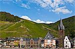 Bernkastel-Kues on the River Moselle, Rhineland-Palatinate, Germany, Europe