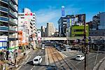 Downtown Nagasaki, Kyushu, Japan, Asia