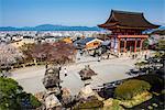 Kiyomizu-dera Buddhist Temple, UNESCO World Heritage Site, Kyoto, Japan, Asia