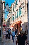 Old Town (Stari Grad), Dubrovnik, Dalmatia, Croatia, Europe