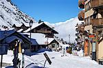 Place de L'Horloge, Arcs 1950, Les Arcs, Savoie, French Alps, France, Europe