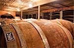 Wine cellar at Camberley Wine estate, Winelands, Western Cape, Stellenbosch, South Africa, Africa