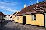 Hans Christian Andersen's House, Odense, Funen, Denmark, Scandinavia, Europe