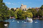 Windsor Castle and River Thames, Windsor, Berkshire, England, United Kingdom, Europe