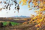 Mount Ashibetsu and Biei countryside, Hokkaido