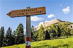 Passo di Costalunga and Catinaccio Mount
