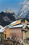 The castle of Werfen, near Salzburg.