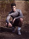 portrait of male Athlete