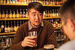 In beer pub