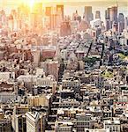 New York aerial view, New York State, USA