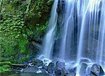 Tatsuzawafudo Falls, Fukushima, Japan