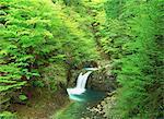 Ryujin Falls, Yamanashi, Japan