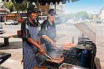 Street stall outside butchery, Bloemfontein, Free State