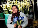 Flower Seller, Adderley Flower Market.