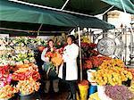 Adderley Street Flower Market.