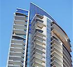 Building in modern city