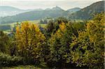 Trifels Castle, Palatinate Forest, near Annweiler, Rhineland-Palatinate, Germany