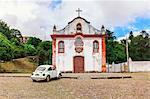 Nossa Senhora das Dores Chapel, Ouro Preto, UNESCO World Heritage Site, Minas Gerais, Brazil, South America