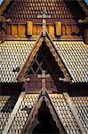Gol Stave Church, Norwegian Folk Museum, Bygdoy Peninsula, Oslo, Norway, Scandinavia, Europe