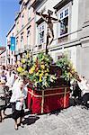 Easter procession Semana Santa, Vegueta old town, Las Palmas, Gran Canaria, Canary Islands, Spain, Europe
