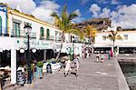 Old town, Puerto de Mogan, Gran Canaria, Canary Islands, Spain, Europe