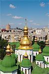 St. Sophia's Cathedral. UNESCO World Heritage Site, Kiev, Ukraine, Europe