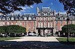 Place des Vosges in The Marais, Paris, France, Europe