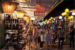 Night market, Siem Reap City, Cambodia, Indochina, Southeast Asia, Asia