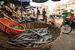 Market, Battambang, Battambang Province, Cambodia, Indochina, Southeast Asia, Asia