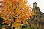 Grimburg Castle, Hunsruck, Rhineland-Palatinate, Germany