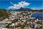 View from Sugarloaf Mountain (Pao de Acucar) of Rio de Janeiro, Brazil