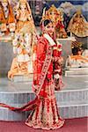 Portrait of Hindu Bride, Toronto, Ontario, Canada