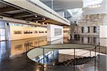 Interior of Museum of Modern Art, Rio de Janeiro, Brazil
