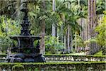 Fountain in Botanical Garden (Jardim Botanico), Rio de Janeiro, Brazil