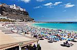 Playa de los Amadores, Gran Canaria, Canary Islands, Spain, Atlantic, Europe