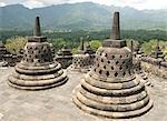 Borobodur Buddhist temple, UNESCO World Heritage Site, Java, Indonesia, Southeast Asia, Asia