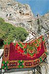 Rock monastery, Rusenski Lom National Park, Bulgaria, Europe