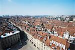 City view from Berner Munster, Bern, Switzerland, Europe