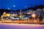 St. Moritz, Graubunden, Swiss Alps, Switzerland, Europe
