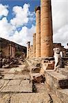 The Temple of Apollo, Cyrene, UNESCO World Heritage Site, Libya, North Africa, Africa