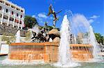 La Princesa Fountain in Old San Juan, Puerto Rico, Caribbean