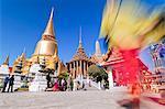 Wat Phra Kaeo, Grand Palace, Bangkok, Thailand, Southeast Asia, Asia