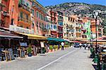 Villefranche-sur-Mer, Alpes-Maritimes, Provence, Cote d'Azur, French Riviera, France, Europe