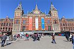 Central Train Station, Amsterdam, Netherlands, Europe