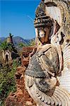 Shwe Inn Thein temple, Inn Dein village, Inle Lake, Shan State, Myanmar (Burma), Asia