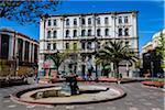 Plaza Echaurren, Valparaiso, Chile