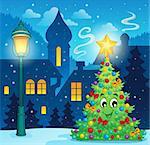Christmas decoration theme 3 - eps10 vector illustration.