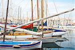 Harbour, Vieux port of Marseille, France
